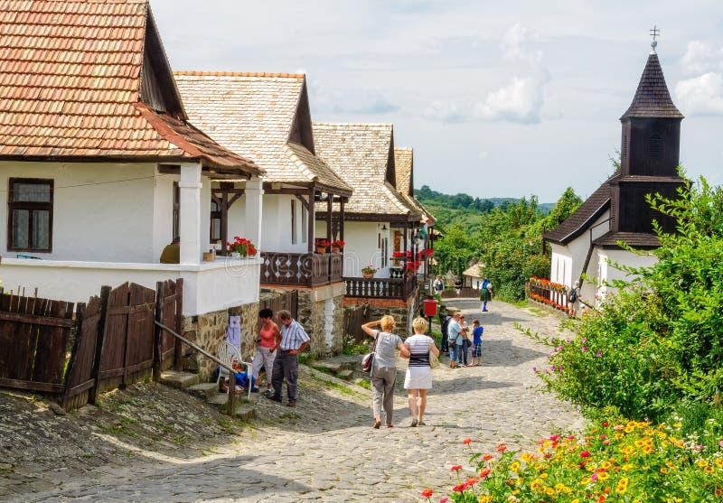 Kossuth-Straße - Holloko lizenzfreie stockfotos