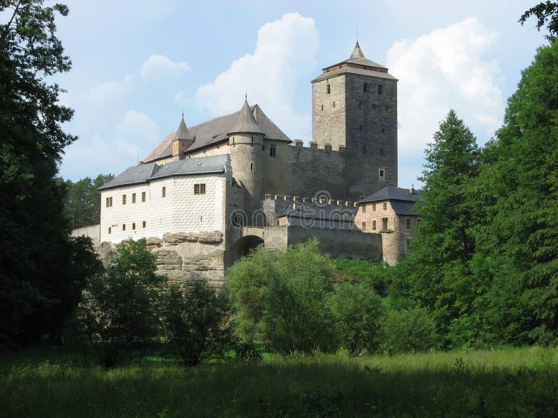 Kost castle stock photo