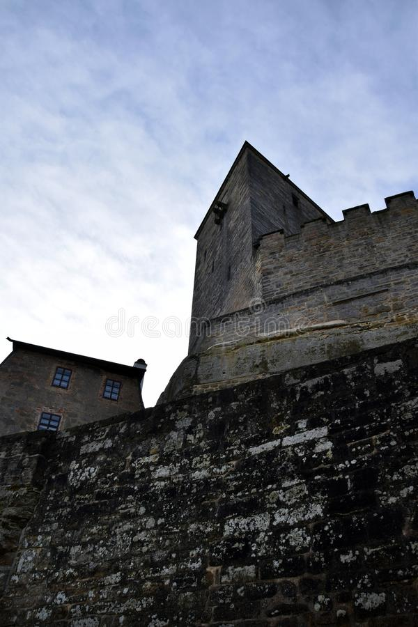 Free Kost Castle In Bohemian Paradise - Medieval Tower Royalty Free Stock Photo - 112558355