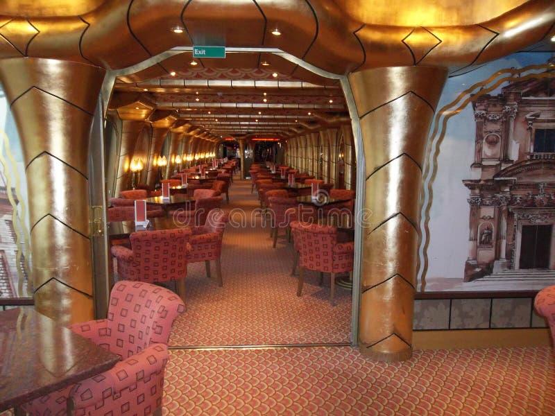 Kosta Magica。餐馆酒吧。 库存照片