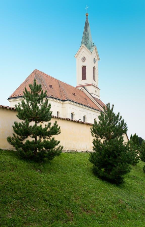 Kostel Архангела St Michael, Svabenice стоковая фотография rf