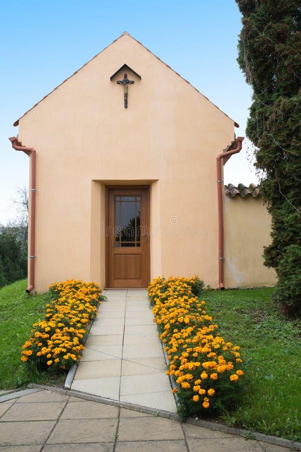 Kostel de St Michael Archangel, Svabenice fotografia de stock