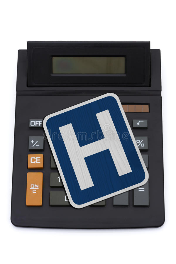 Kosten Gesundheitswesen stockfotografie