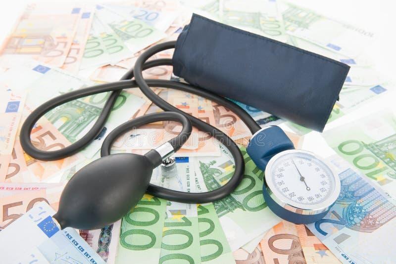 Kosten Gesundheitswesen stockfoto