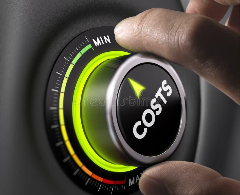 Kosten-Management lizenzfreie abbildung