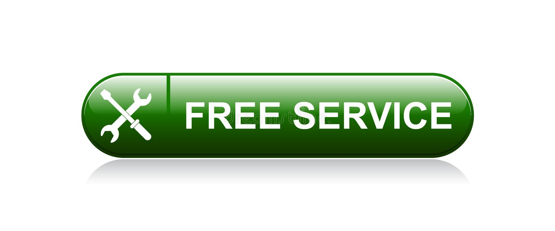 Kostenloser Service vektor abbildung