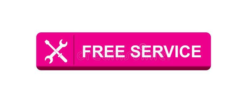 Kostenloser Service lizenzfreie abbildung