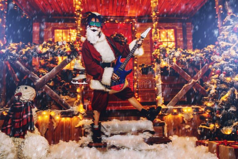 Kostium bujak Santa zdjęcie royalty free
