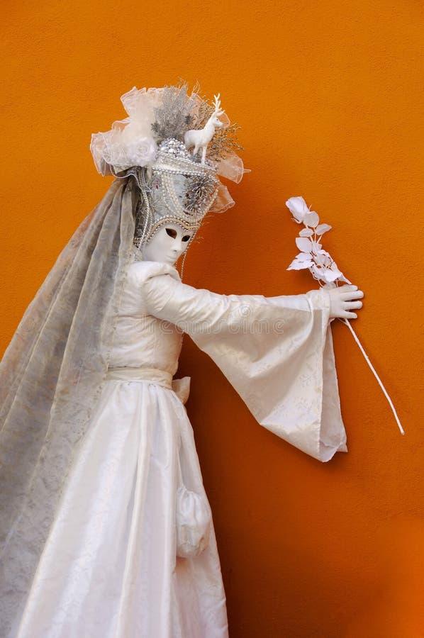 Kostium partyjny Wenecja obraz royalty free