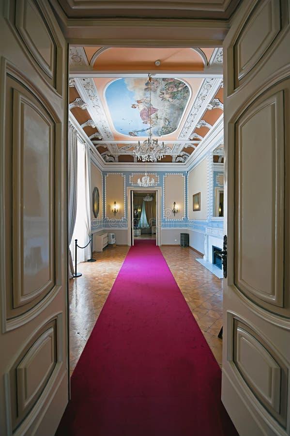 Kostium pokoje w Achilleion pałac, Corfu, Gre obrazy royalty free