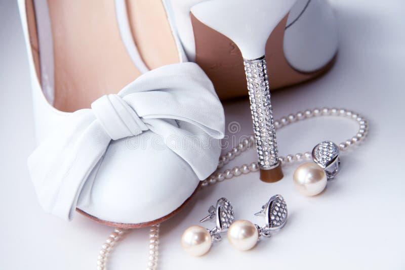 kostiumowy jewellery kuje ślub zdjęcie royalty free