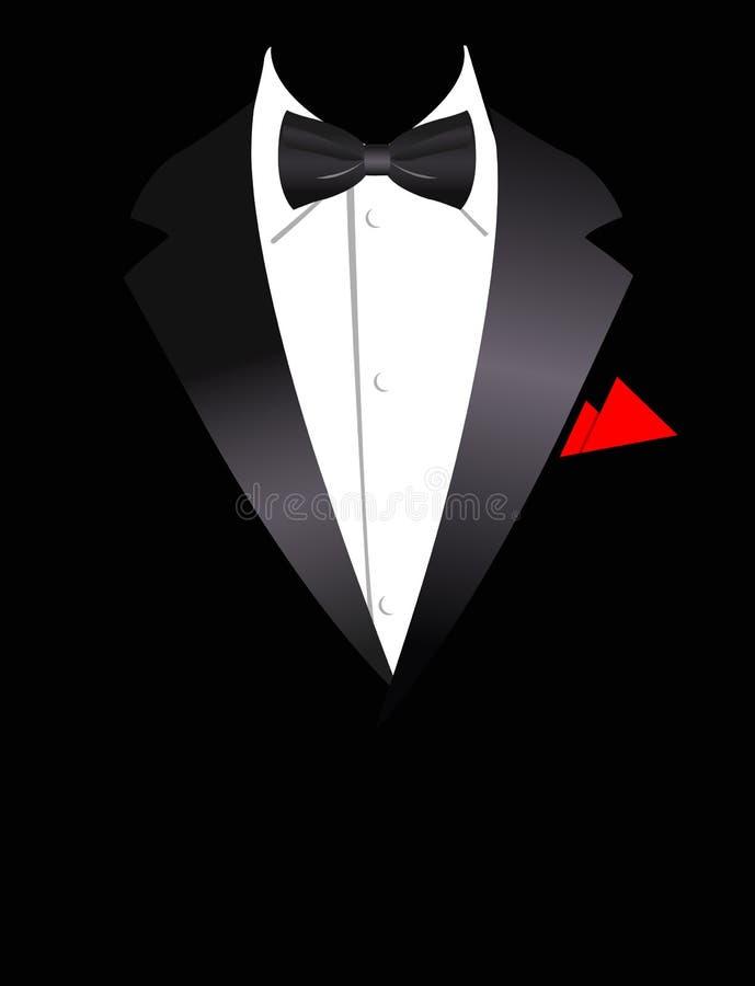 kostiumu elegancki ilustracyjny wektor royalty ilustracja