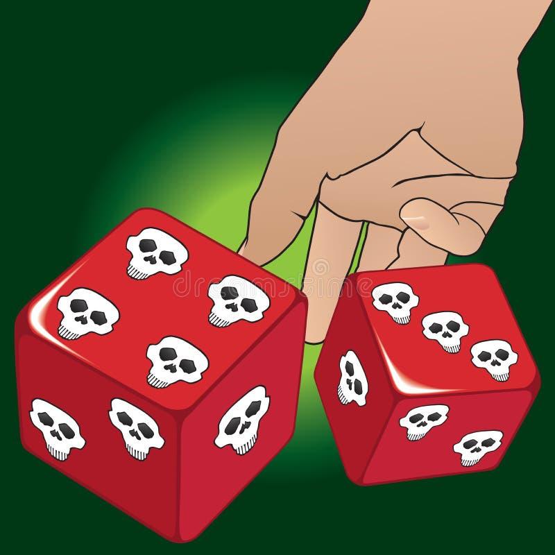 kostka do gry target2025_1_ ilustracji