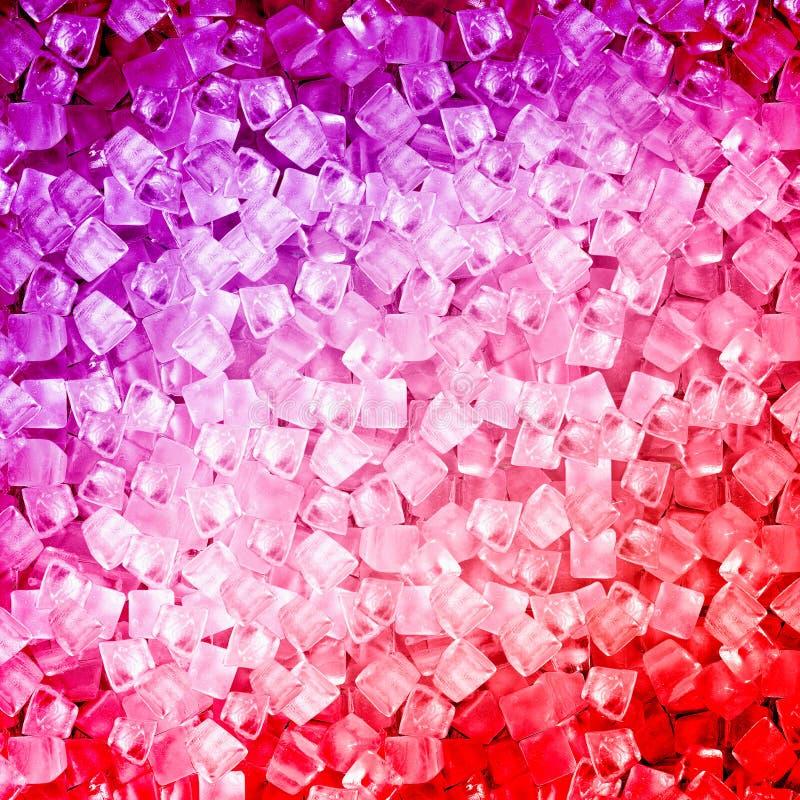Kostka lodu świeży chłodno tło zdjęcie royalty free