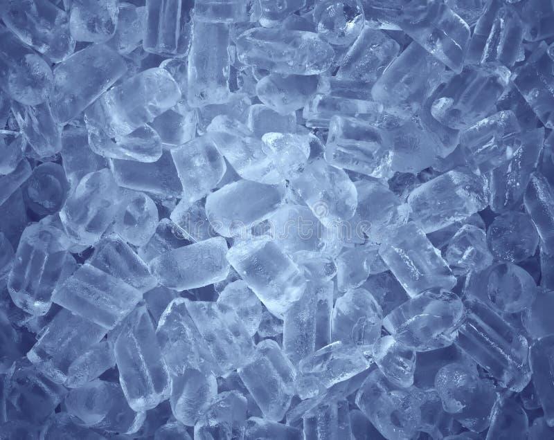 Kostka lodu świeży chłodno tło fotografia royalty free