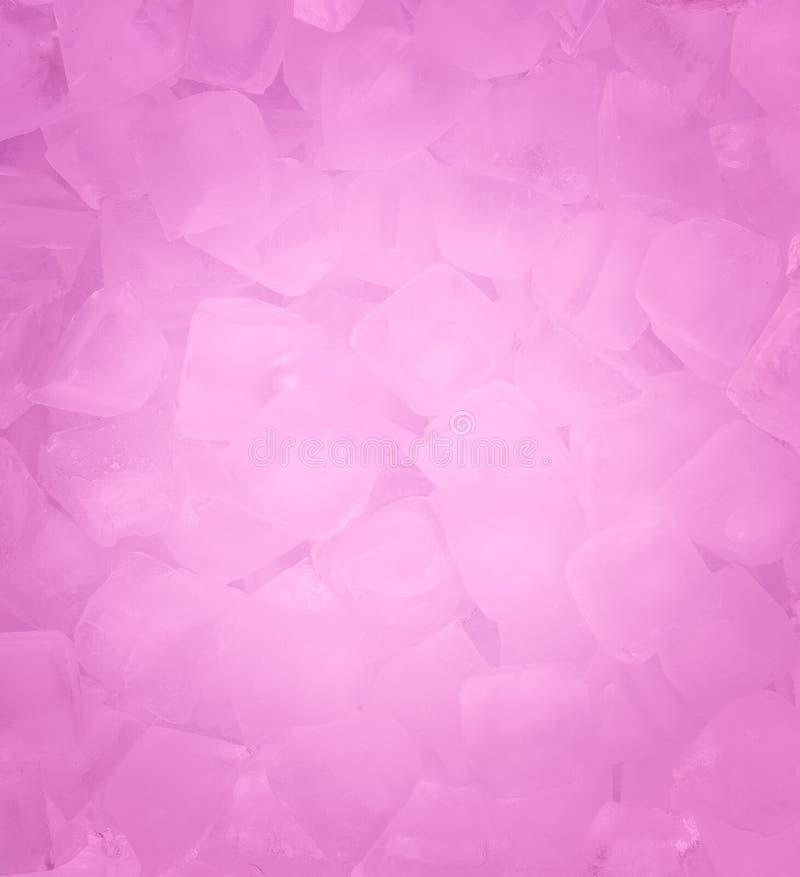 Kostka lodu świeży chłodno tło obrazy stock