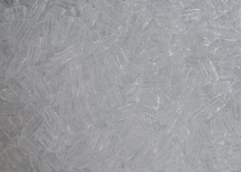 Kostka lodu świeży chłodno tło zdjęcia stock