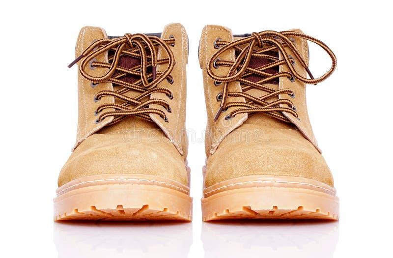 Kostka rzemienni buty zdjęcie stock