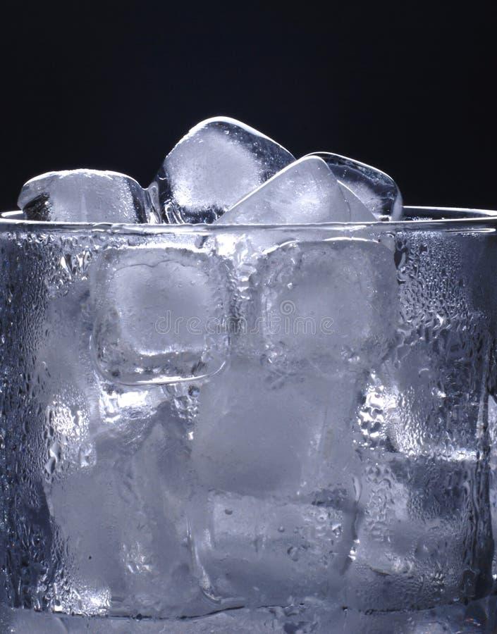 kostki lodu szkła obraz royalty free