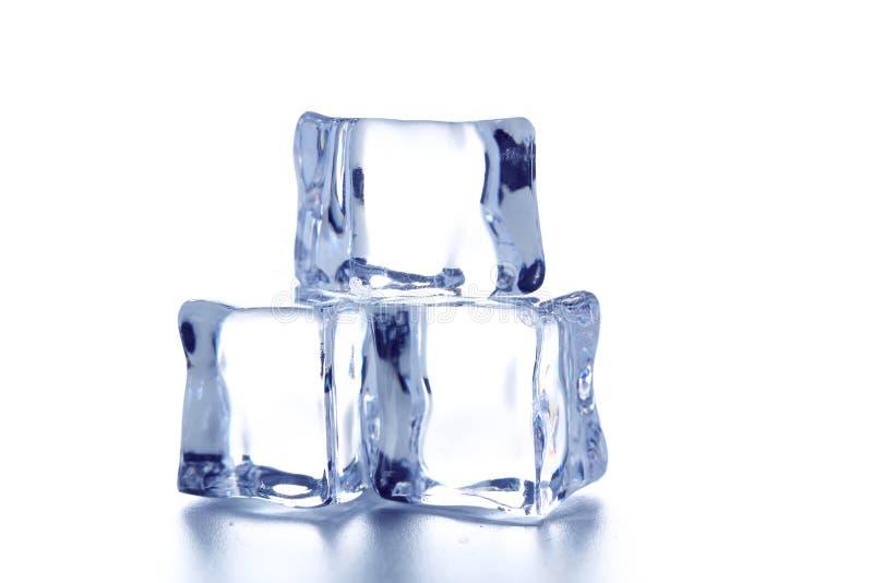 kostki podobszaru ices topnienia fotografia stock