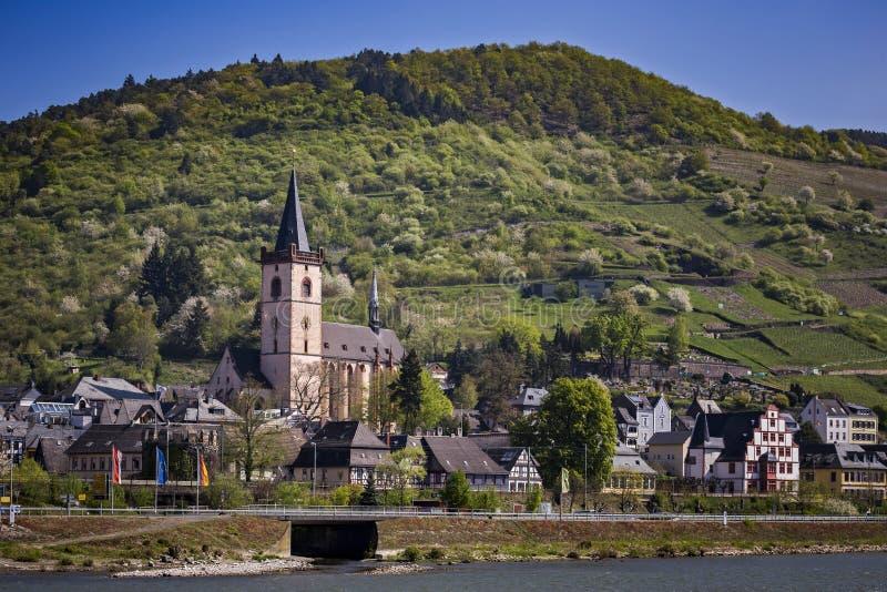 Kostkowy Stadt Lorch am Rhein zdjęcia royalty free