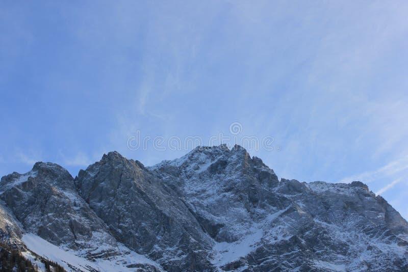 Kostkowy Zugspitze zdjęcia stock