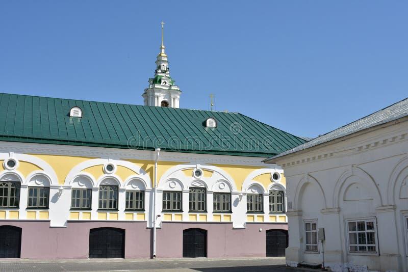 Kostroma architektoniczny zespół serie budował dla kilka dekad obrazy royalty free