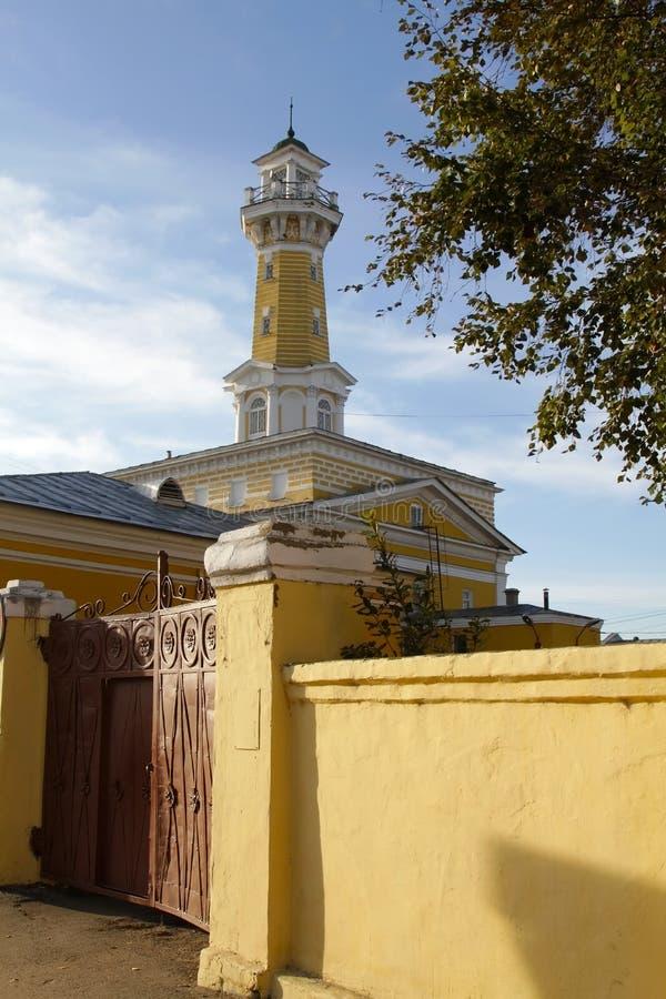 Kostroma Feuer-Turm stockfotografie