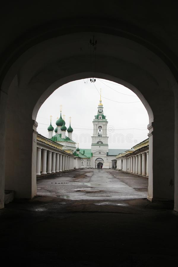 Kostroma Gostiny Dvor, Ρωσία στοκ φωτογραφία με δικαίωμα ελεύθερης χρήσης