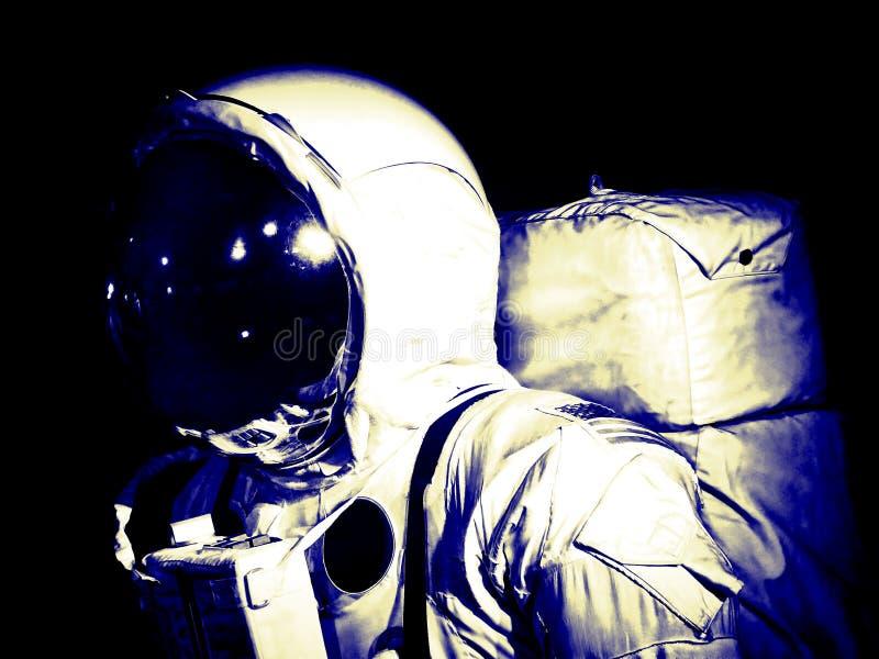 Kostuum van de astronauten het ruimtegang royalty-vrije stock foto's