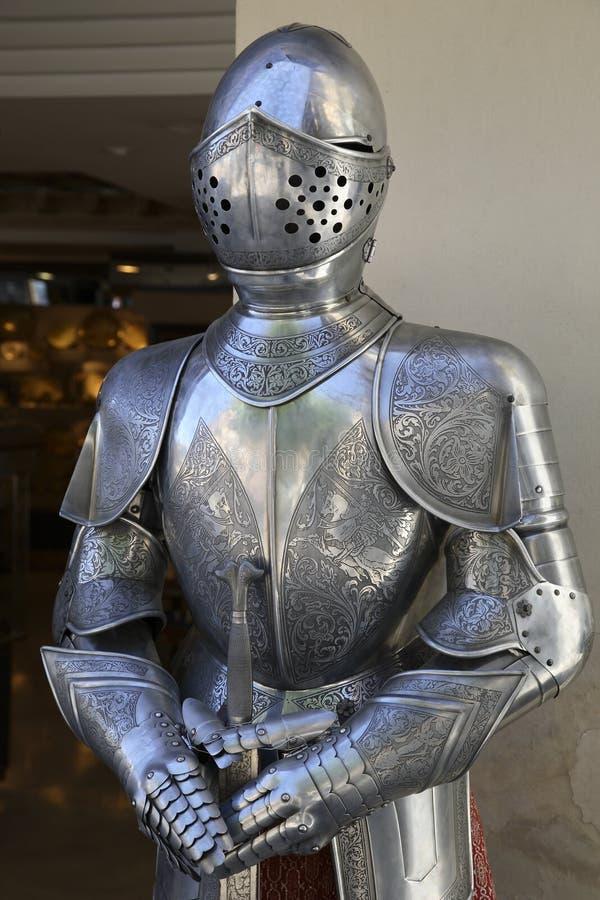 Kostuum van Pantser, Toledo stock foto