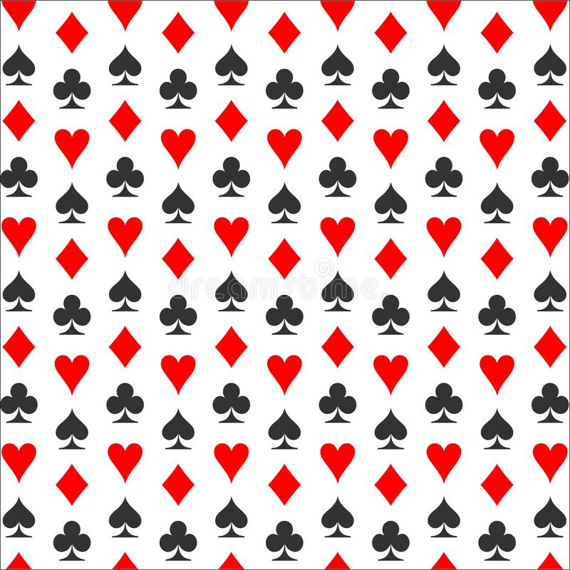 Kostuumsachtergrond Het pictogram van het kaartkostuum - vector stock illustratie