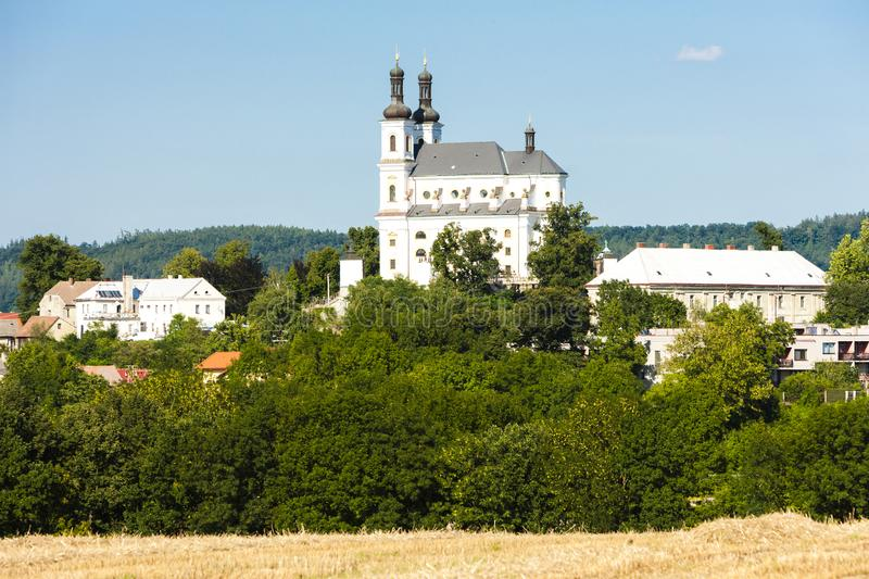 Kosumberk, République Tchèque photographie stock libre de droits