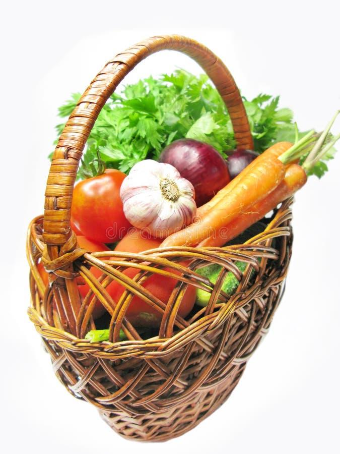 kosz folujący warzywa obrazy royalty free