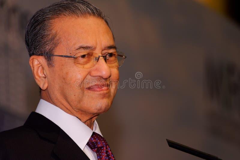 kosza dr Mahathir Mohamad Tun fotografia stock