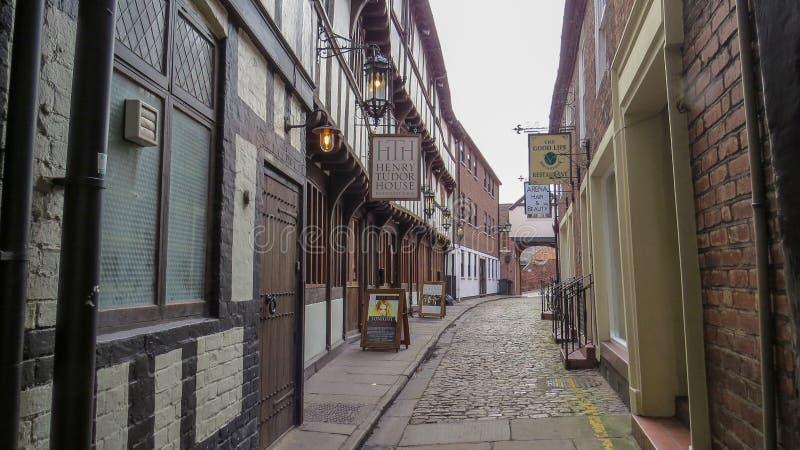 Koszary przejście w Shrewsbury Shropshire zdjęcia stock