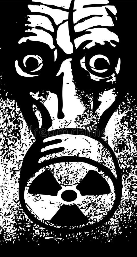 koszmar jądrowy ilustracji