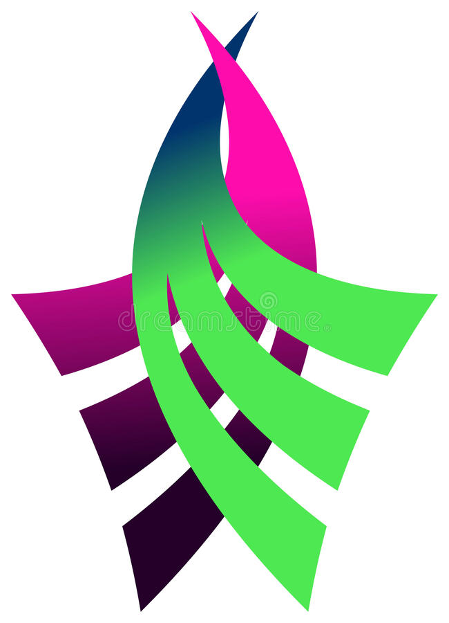 koszowy logo ilustracja wektor