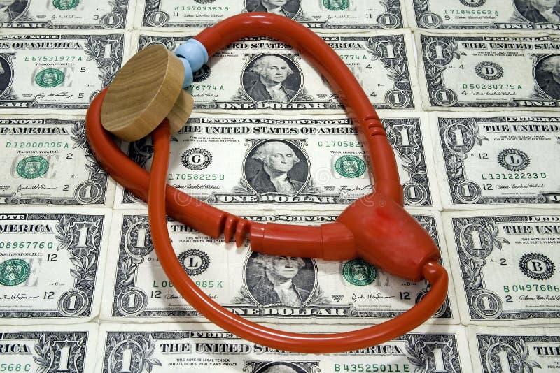 koszt opieka zdrowotna zdjęcie stock