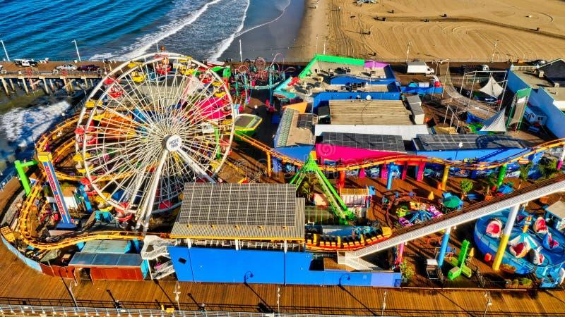 Koszt stały strzał przyciąganie park na piaskowatej plaży podczas słonecznego dnia obrazy stock