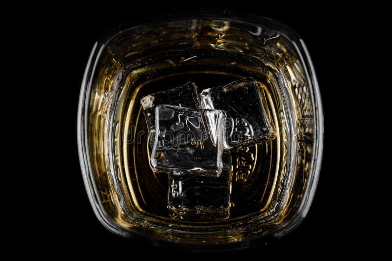 Koszt stały strzelający whisky obrazy royalty free