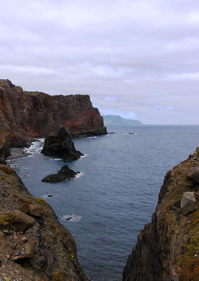 koszt wyspa Madeira zdjęcie royalty free