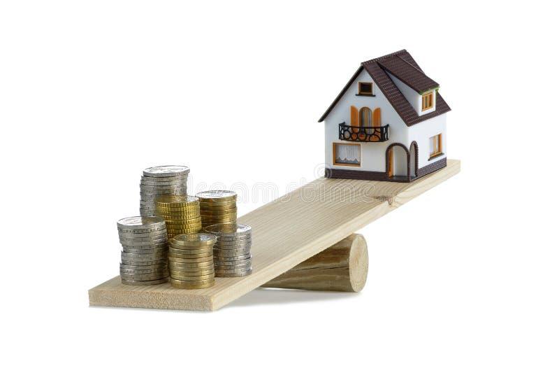 Kosztu dom obrazy stock
