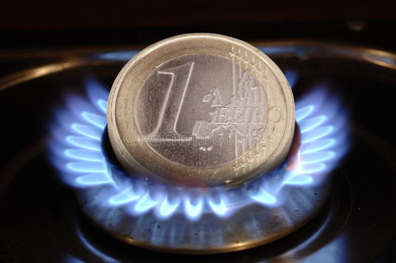 kosztu energii cena gazu ilustracja wektor