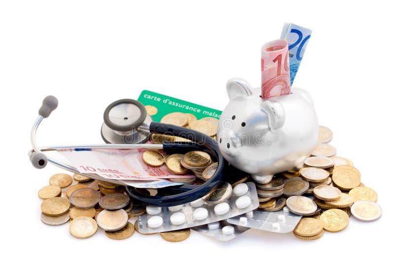kosztuje opiekę zdrowotną zdjęcie royalty free