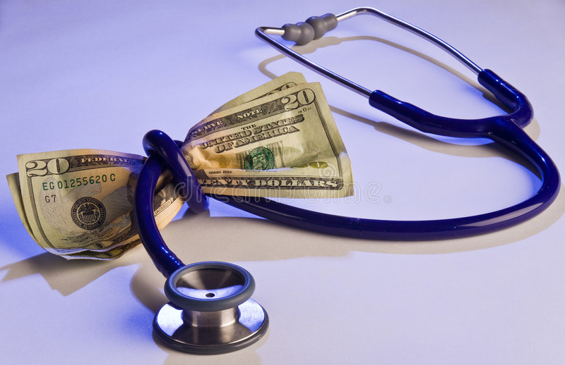 koszty medyczne wysoko fotografia royalty free