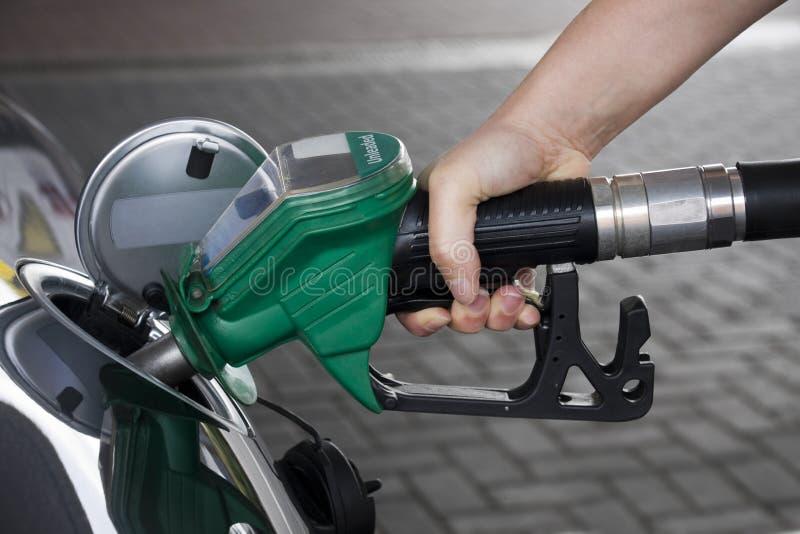 koszty paliwa wzrasta zdjęcie royalty free