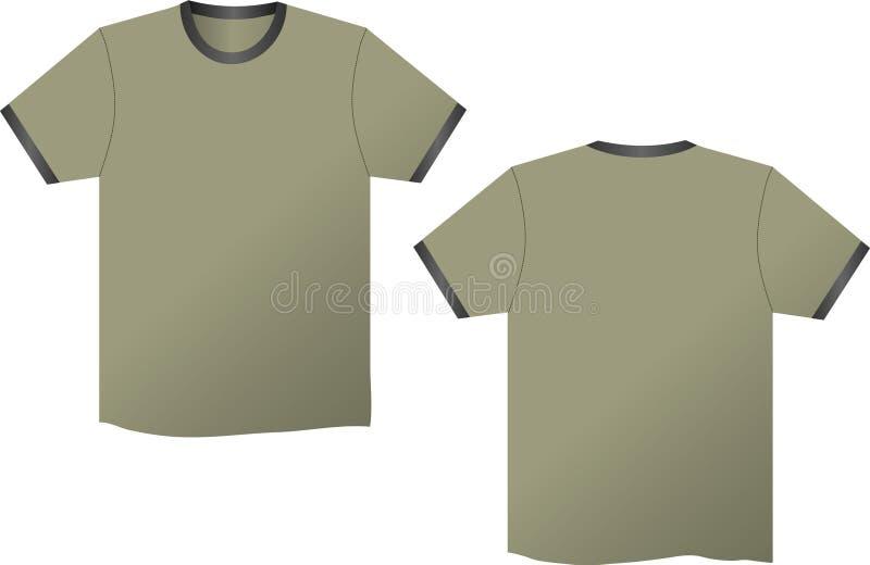 koszula t ilustracja wektor