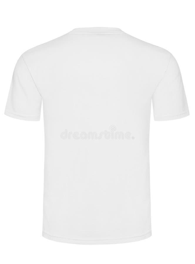 Koszulka odizolowywająca na białym tle obrazy stock