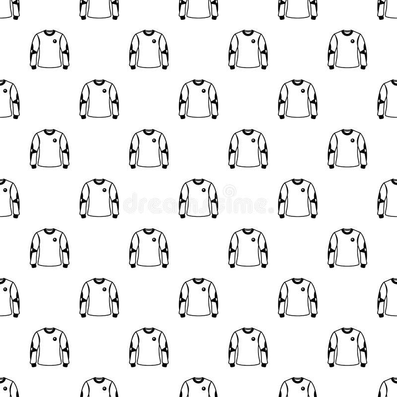 Koszulowa bramkarz ikona, prosty czerń styl royalty ilustracja